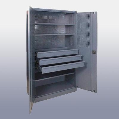 Инструментальные шкафы и метизные