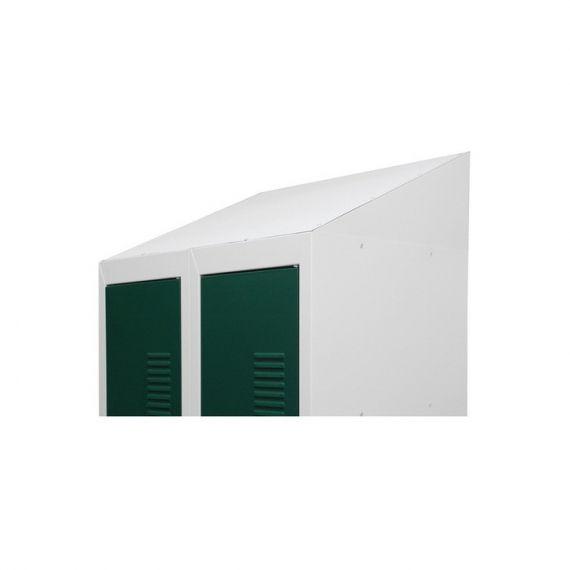 Крыша угловая для одежного металлического шкафа шириной 800мм