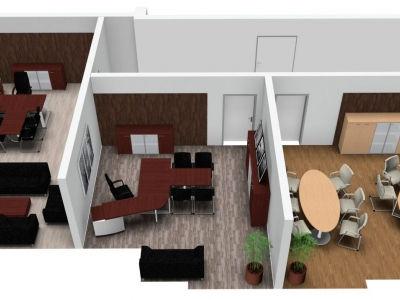 Вид на все кабинеты